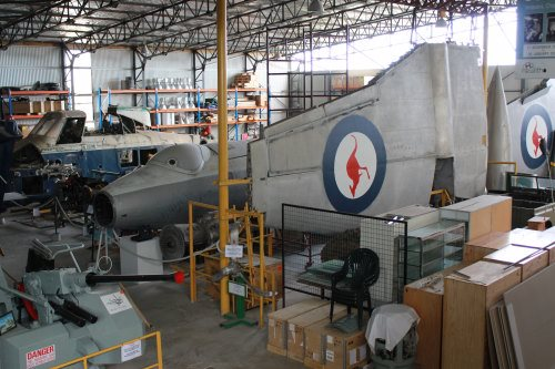 Restoration area of Vietnam Veterans Museum