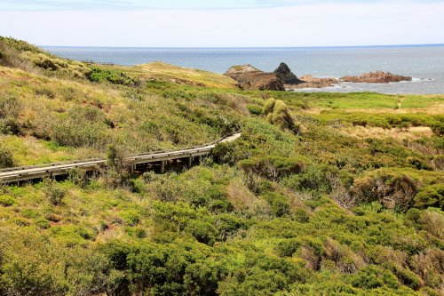 Walk from Pyramid Rock to Berrys Beach