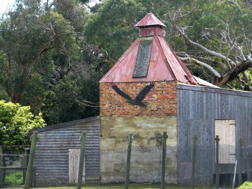 Old chicory kiln on Phillip Island