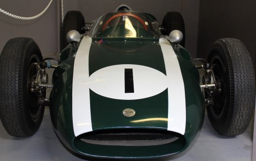 Jack Brabham's Cooper race car
