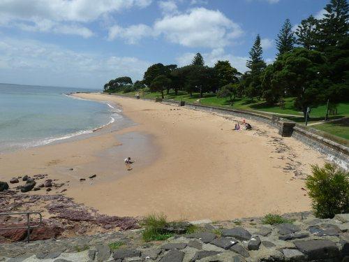 Cowes beach, Phillip Island