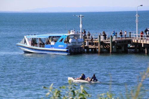 Ecoboat at Cowes Jetty