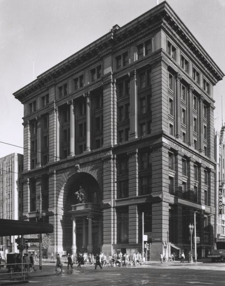 Cape Woolamai pink granite was used for The Equitable Building in Melbourne.