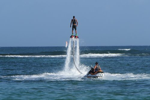 Flyboarding has come to Phillip Island