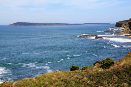 Looking towards Cape Woolamai on Phillip Island from George Bass Coastal Walk