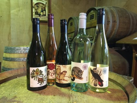 Tasting at Gippsland Wine Company