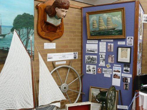 SS Speke display at Historical Museum