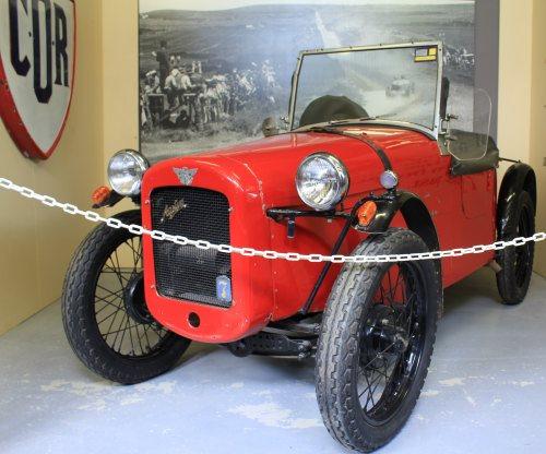 Historic racing car