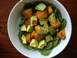 Avocado and Pumpkin Salad