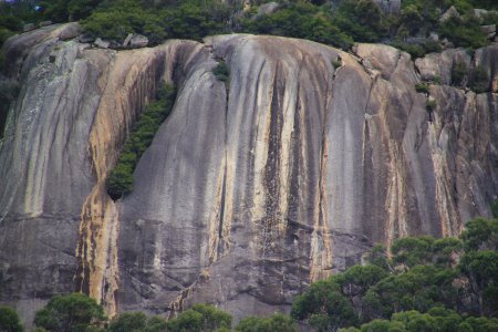 Granite rock face at Wilsons Promontory