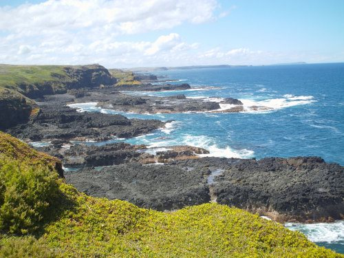 South coast, Phillip Island