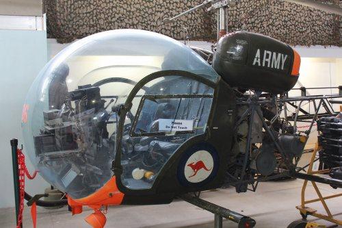 Vietnam war era Bell helicopter