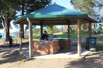 Barbeque shelter, Cowes, Phillip Island