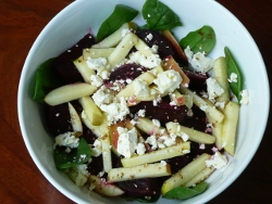 Apple and Beetroot Salad
