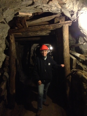 State Coal Mine underground tour