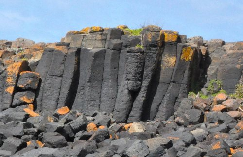 Volcanic rock formations, Kitty Miller Bay