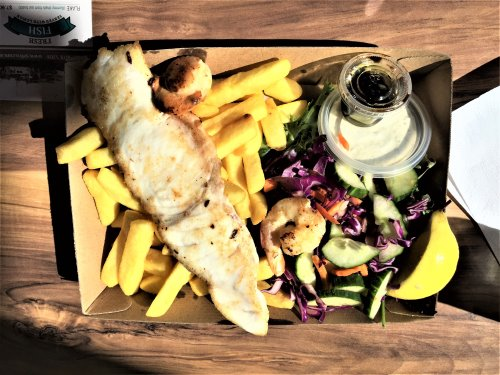San Remo Fisherman's Co-op fish and chips