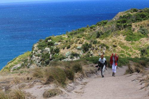 Walking track at Cape Woolamai