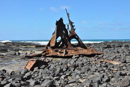Wreck of the SS Speke at Phillip Island