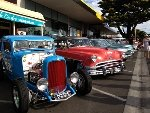 Vintage cars at Phillip Island